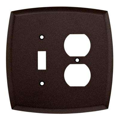 Mandara Decorative Switch and Duplex Outlet Cover, Cocoa Bronze
