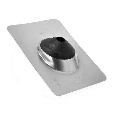 10.75 in. x 1.20 ft. No-Caulk Aluminum Base Rain Diverter Roof Transition Flashing