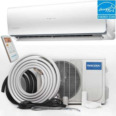 Oasis Hyper Heat 24000 BTU Ductless Mini Split Air Conditioner and Heat Pump - 230V