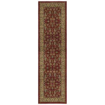 McAlester Burgundy 2 ft. 3 in. x 8 ft. Runner Rug