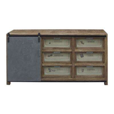 Ettenbough Collection Gray Sideboard