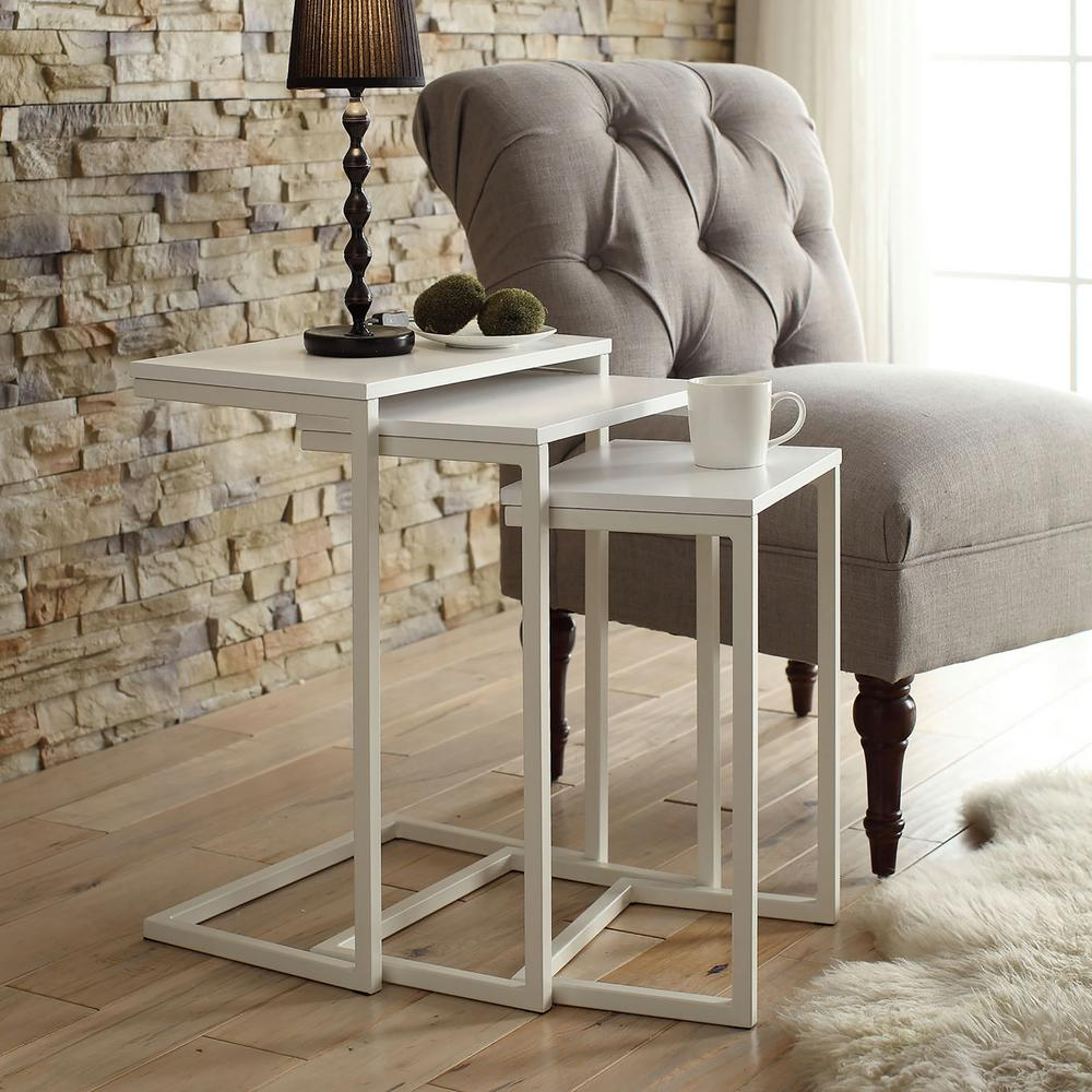 Carolina Chair and Table Madison Nesting Table Set of 3 Carolina Chair /& Table 1WSS-2016