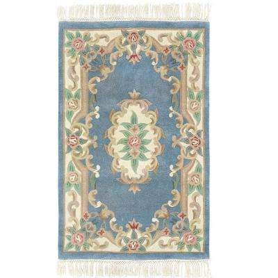 Imperial Light Blue 4 ft. x 6 ft. Area Rug