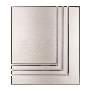 Hampton Bay Wireless or Wired Door Bell, Brushed Nickel by Hampton Bay