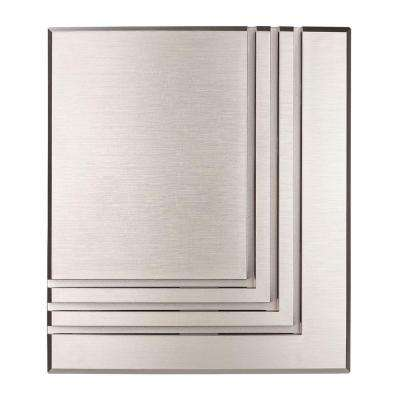 Wireless or Wired Door Bell, Brushed Nickel