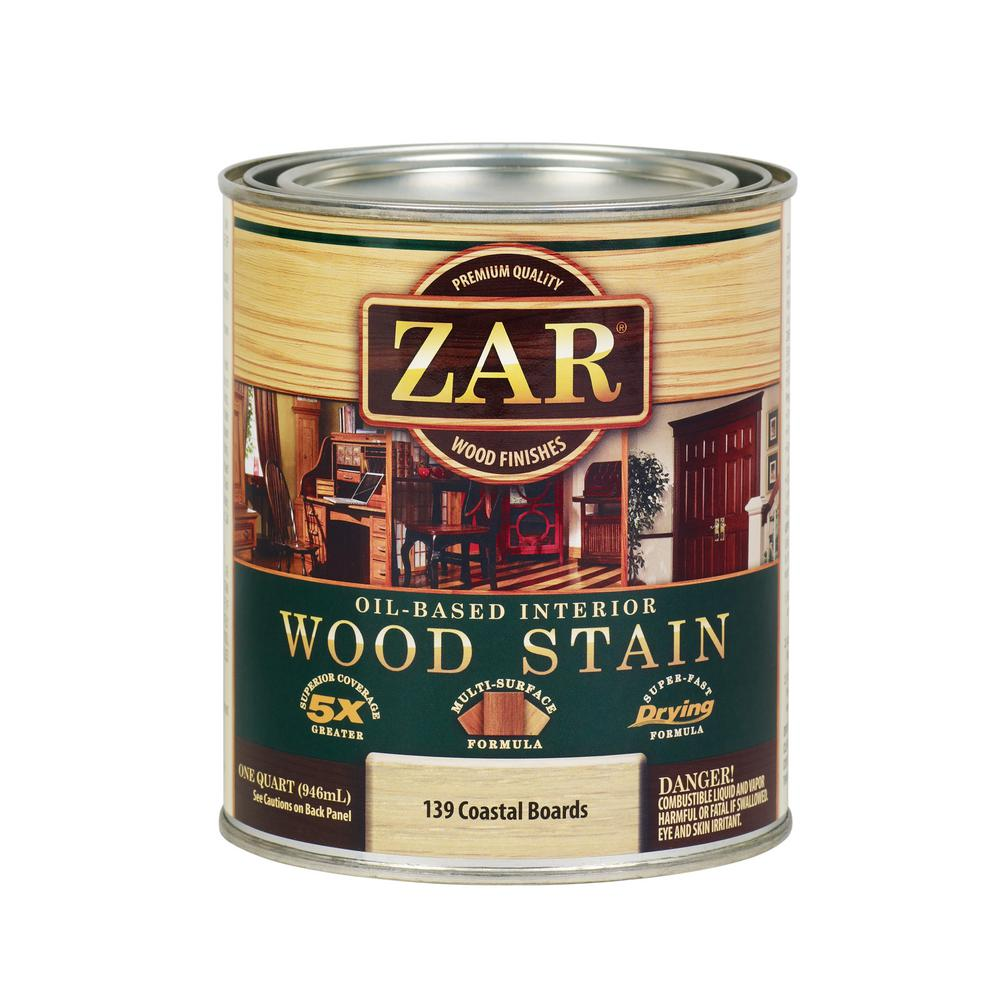 ZAR 139 1 qt. Country White Coastal Boards Wood Interior Stain (2-Pack)