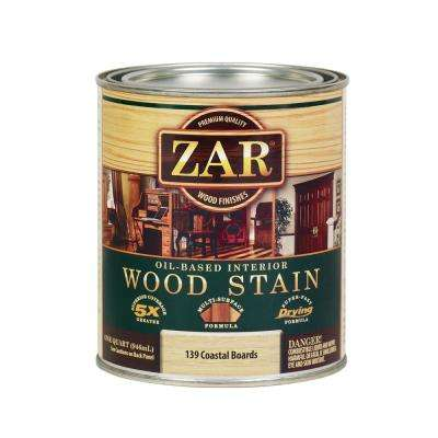 139 1 qt. Country White Coastal Boards Wood Interior Stain (2-Pack)