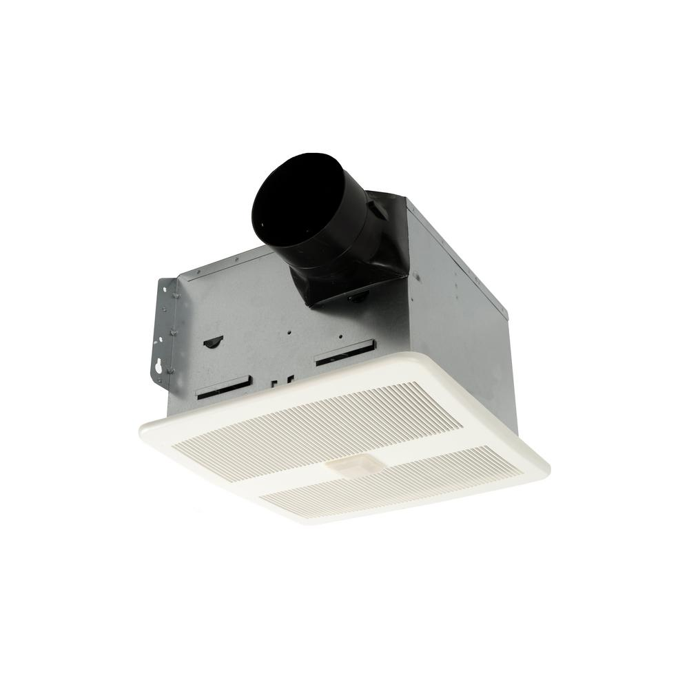 Hushtone By Cyclone 110 Cfm Ceiling Bathroom Exhaust Fan With Speed Control And Motion Sensor