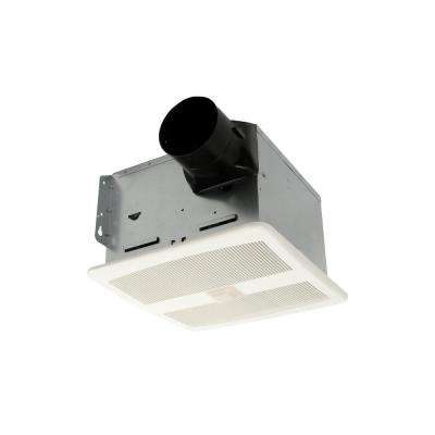 110 CFM Ceiling Bathroom Exhaust Fan with Speed Control and Motion Sensor, Energy Star
