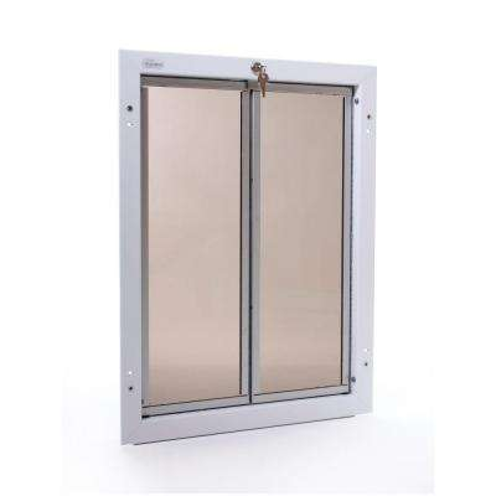 16 in. x 23.75 in. Chew Proof XLarge White Wall Mount Dog Door