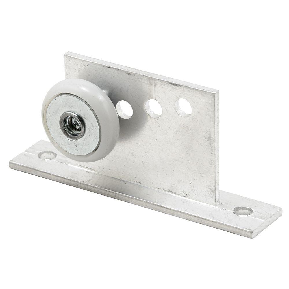 3/4 in. Round Shower Door Roller and Bracket