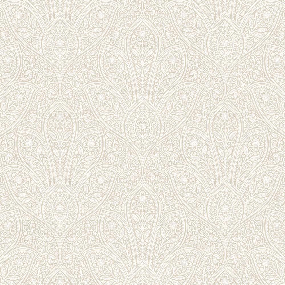Distressed Paisley Wallpaper