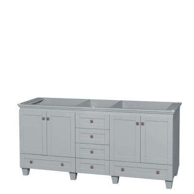 Vanity Cabinet In Oyster Gray