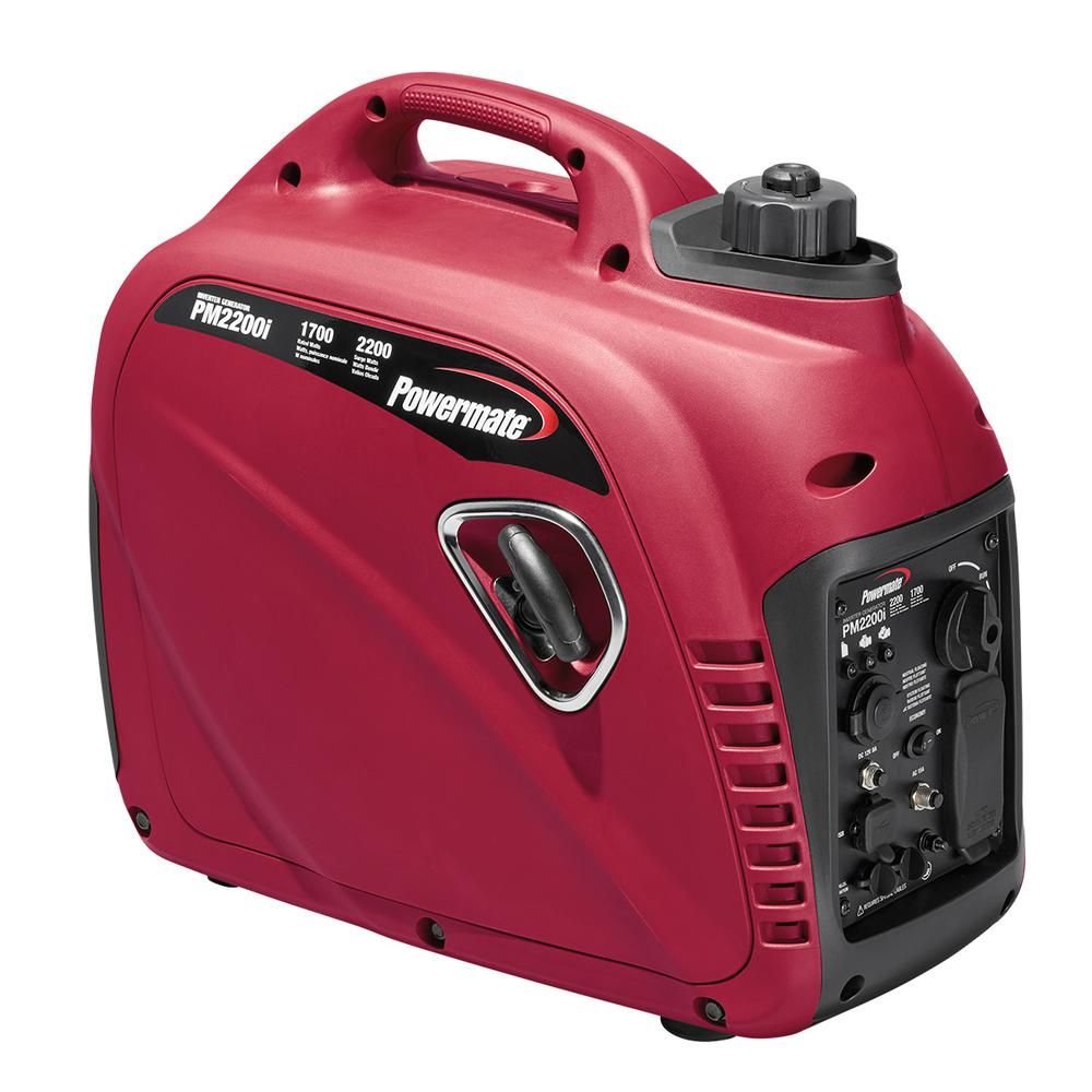 1700-Watt Gasoline Powered Inverter Generator