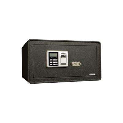 S Series 1.27 cu. ft. All Steel Security Safe with Biometric Lock, Textured Black