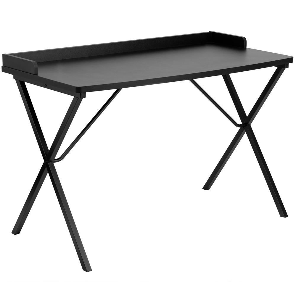 Carnegy Avenue Black Computer Desk CGA-NAN-9541-BL-HD