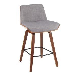 Surprising Lumisource Corazza Mid Century Modern Walnut Wood And Light Lamtechconsult Wood Chair Design Ideas Lamtechconsultcom