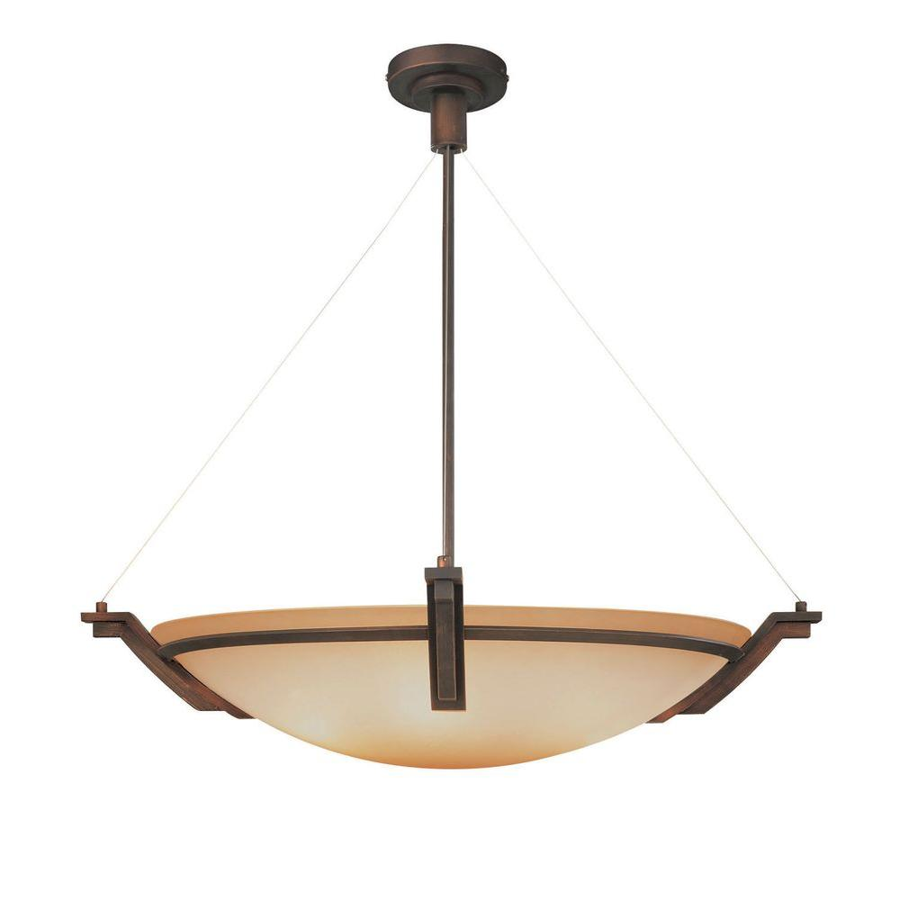 Filament Design Yeats 3-Light Oil-Rubbed Bronze Pendant