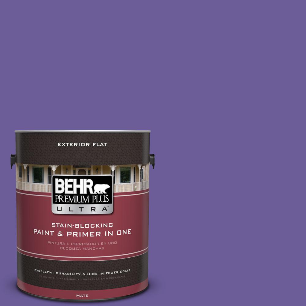 BEHR Premium Plus Ultra 1-gal. #P560-6 Just a Fairytale Flat Exterior Paint