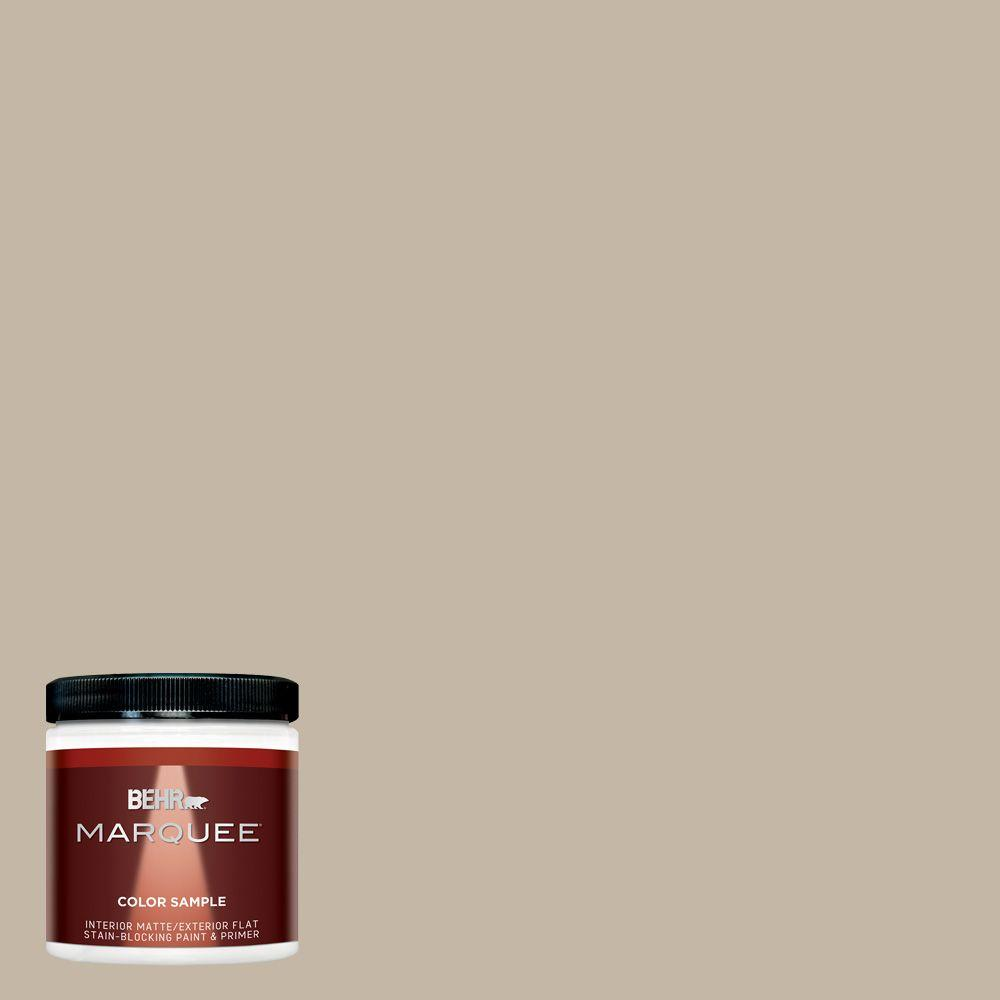 BEHR MARQUEE 8 oz. #MQ2-51 Pasha Brown Interior/Exterior Paint Sample