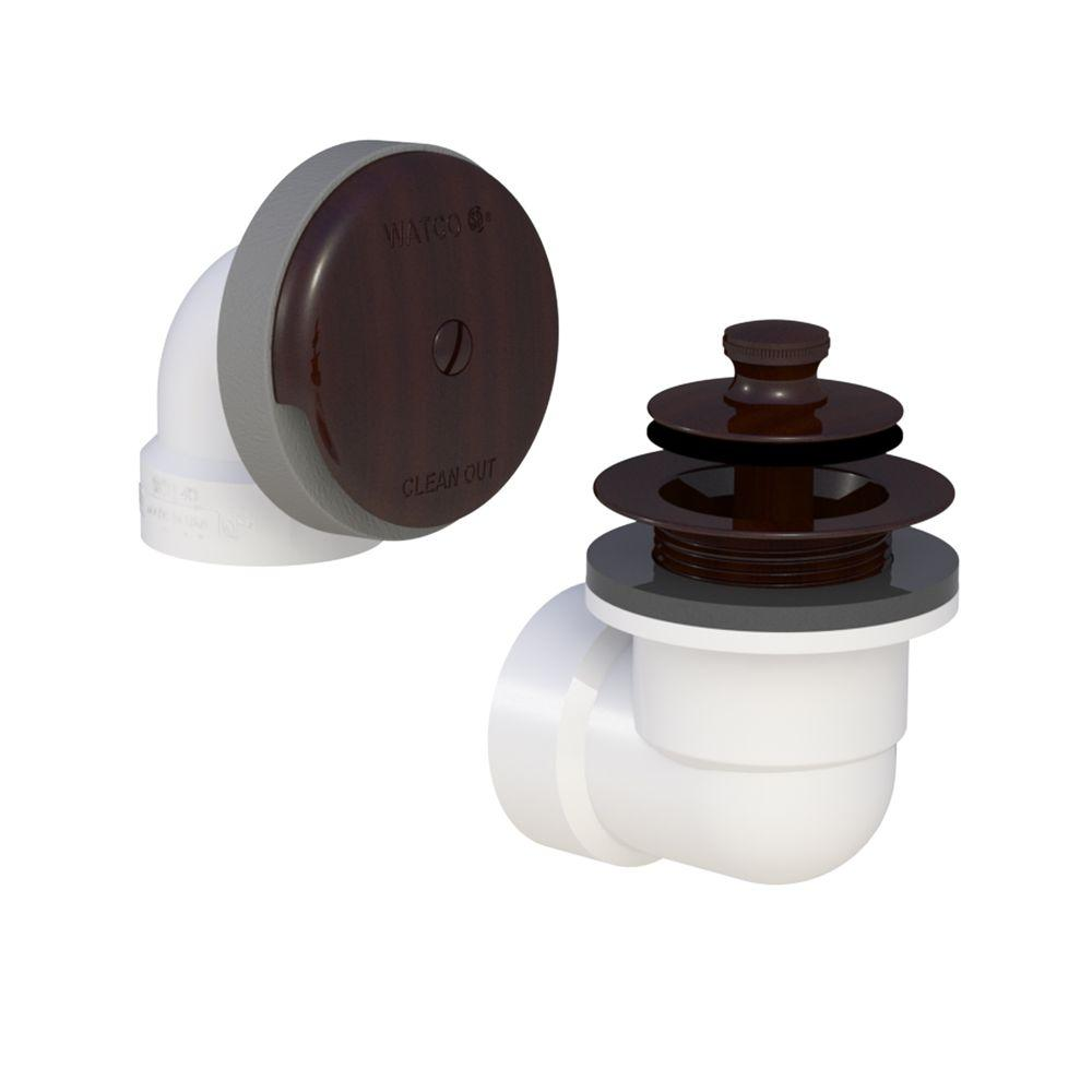 Watco 601-PP-PVC-BZ Push Pull Bath Waste - Oil-Rubbed Bronze