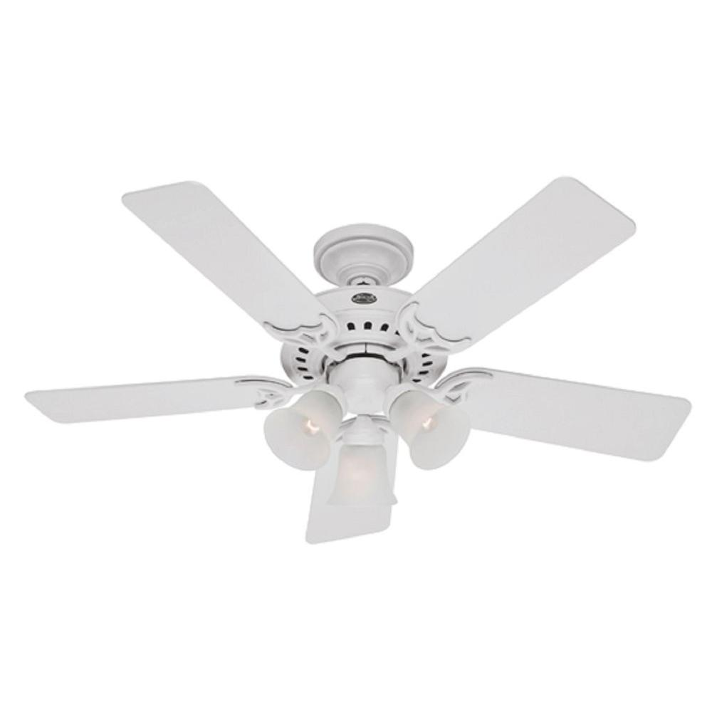 Hunter 46 in. White Ceiling Fan-DISCONTINUED
