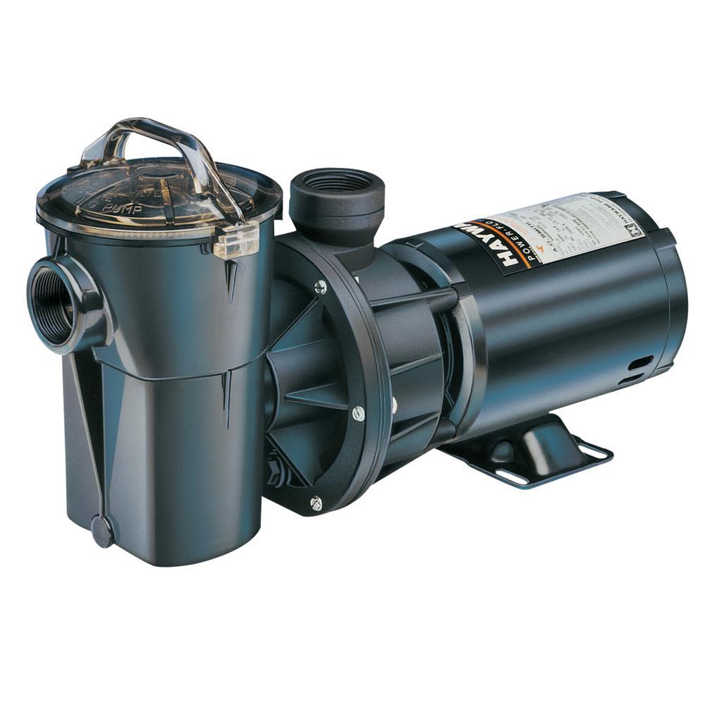 ½ HP PowerFlo II Aboveground Single Speed  Pool Pump