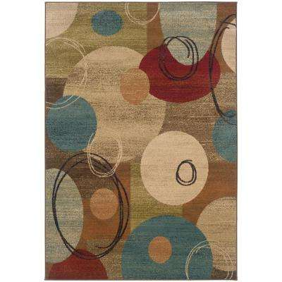 Galaxy Multi 7 ft. 10 in. x 10 ft. Area Rug