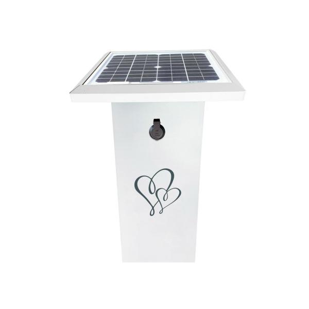 SuperCharge35 Wedding Edition 480-Watt Solar Powered Generator with USB Port