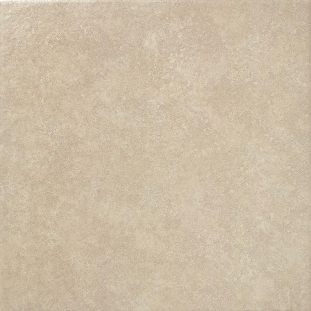 Trafficmaster Pacifica 16 In X 16 In Beige Ceramic Floor