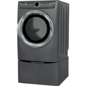 Electrolux 8 0 Cu Ft Front Load Perfect Steam Electric Dryer With