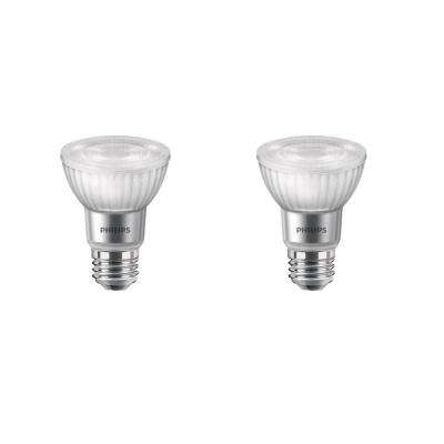 50-Watt Equivalent PAR20 Dimmable LED with Warm Glow Dimming Effect Flood Light Bulb Bright White (2-Pack)