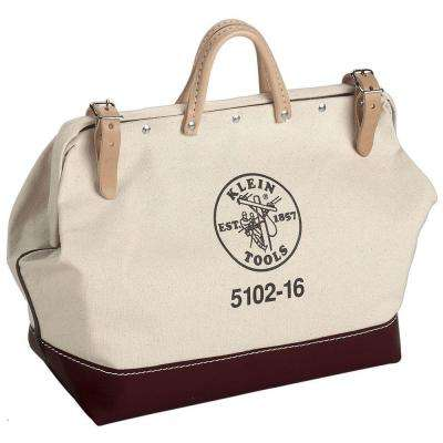 16 in. Canvas Tool Bag
