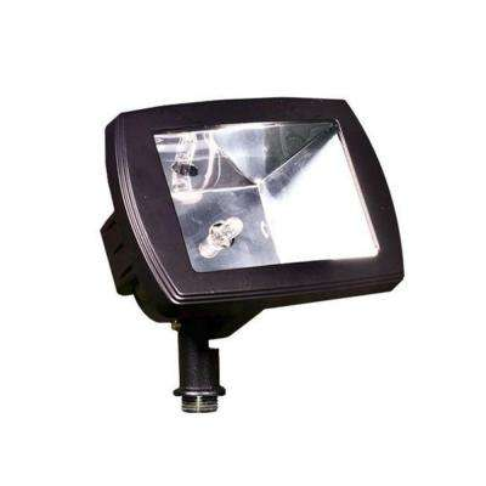 Adrien 1-Light Black Outdoor Directional Flood Light