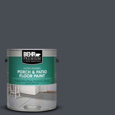 1 gal. #PPU15-20 Poppy Seed Gloss Porch and Patio Floor Paint