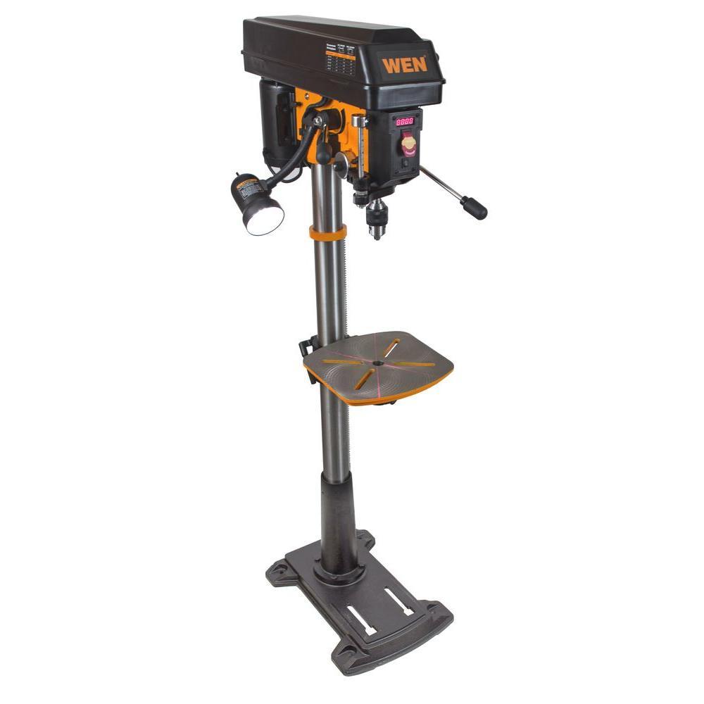 Wen 8 6 Amp 15 In Floor Standing Drill Press With