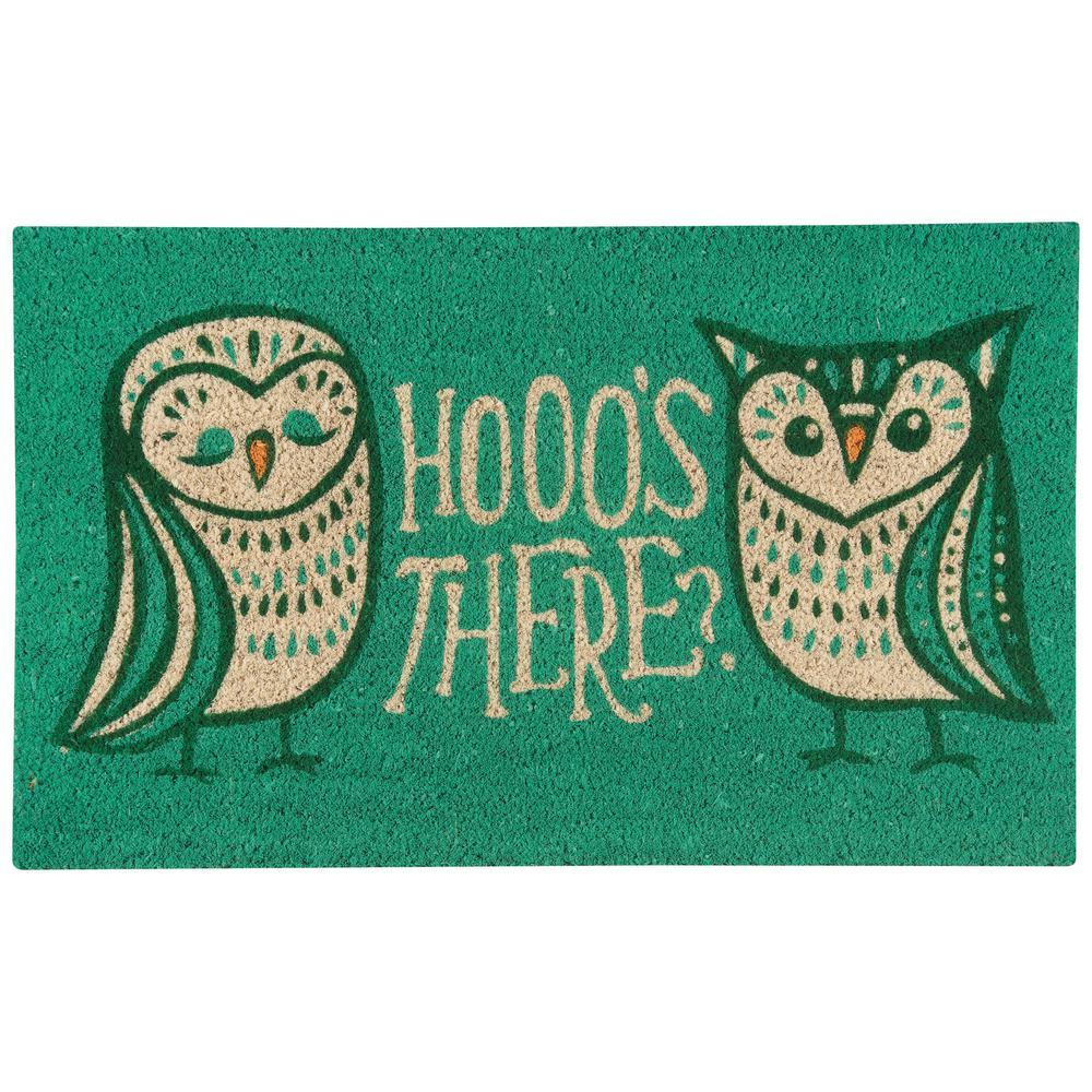Animal Doormats 10-106-037 Rubber-Cal Wipe Your Paws Doormat 18 x 30 inches