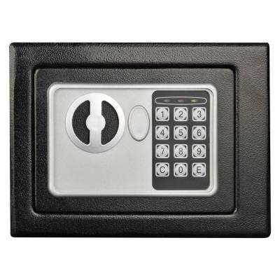 0.16 cu. ft. Deluxe Digital Lock Steel Safe, Black