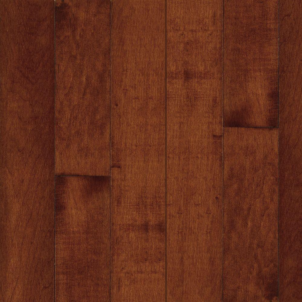 American Originals Salsa Cherry Maple 3/8in. T x 3 in.W x Varying L Click Lock Engineered Hardwood Flooring (22 sq.ft.)