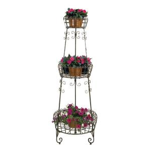 Deer Park Metal 3-Tier French Planter by Deer Park