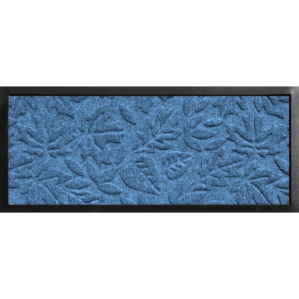 Aqua Shield Boot Tray Fall Day Medium Blue 15 in. x