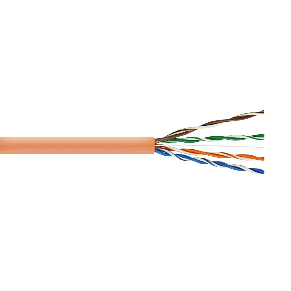 Syston Cable Technology Cat5e 500 Ft Tan Indoor Outdoor Twisted Internet Wiring Pair