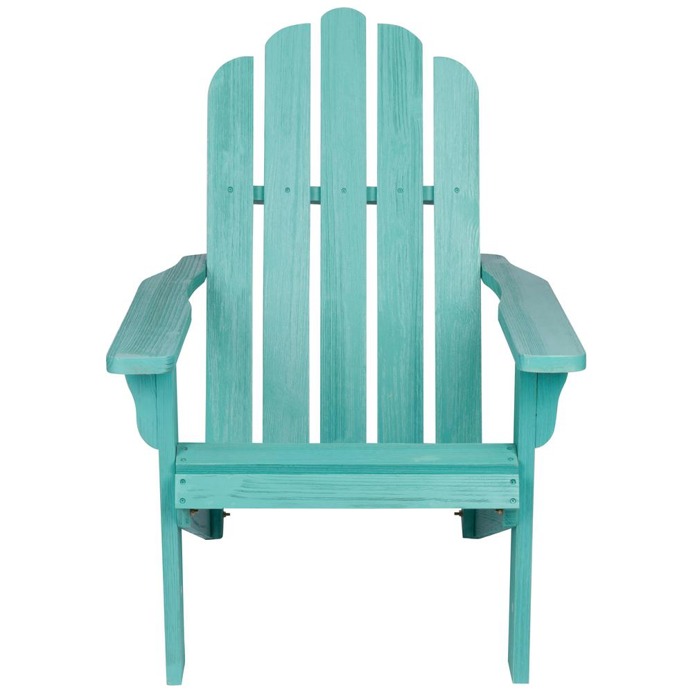 Miraculous Shine Company 38 In Tall Vintage Marina Patio Turquoise Wood Adirondack Chair Download Free Architecture Designs Scobabritishbridgeorg