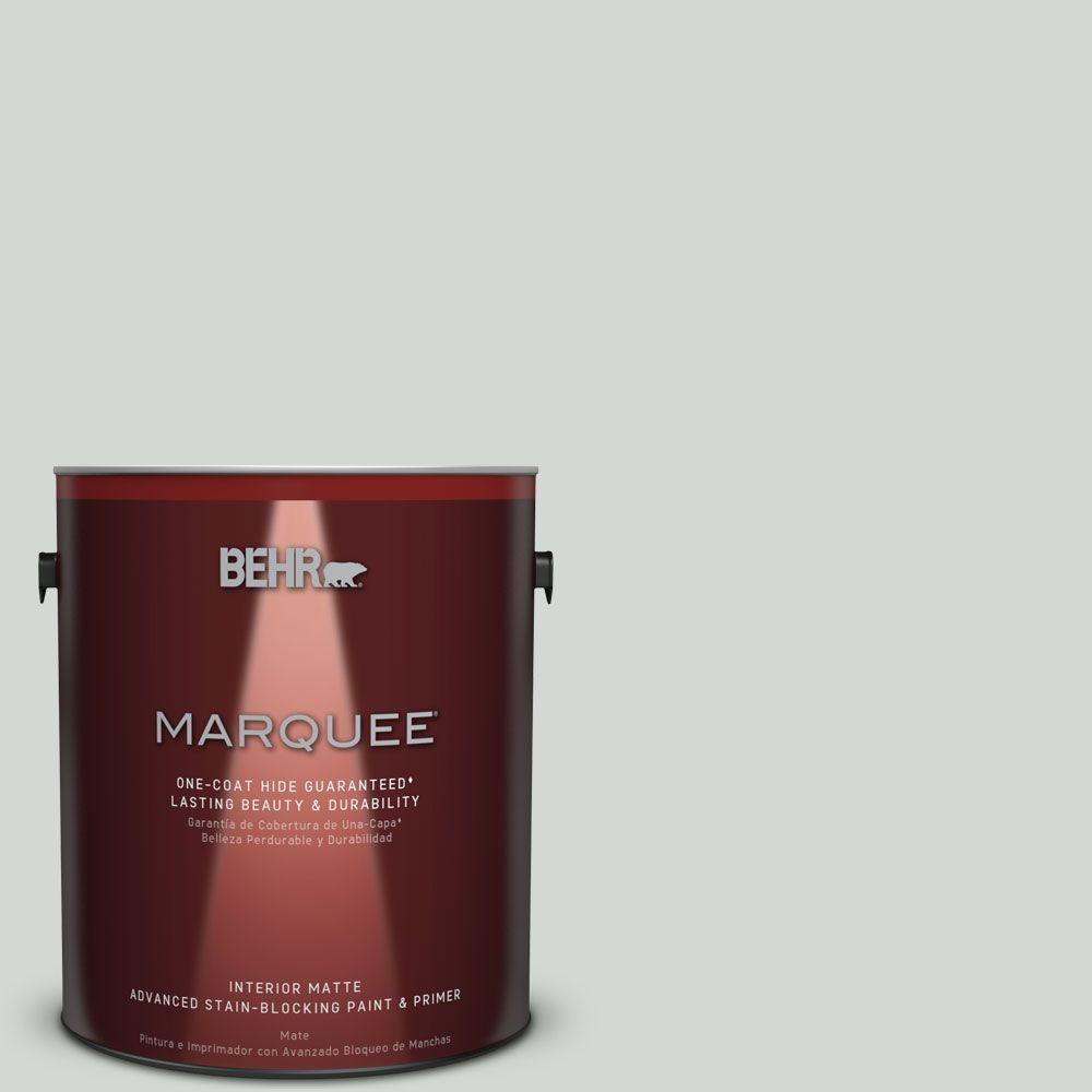BEHR MARQUEE 1 gal. #MQ3-22 Curio One-Coat Hide Matte Interior Paint