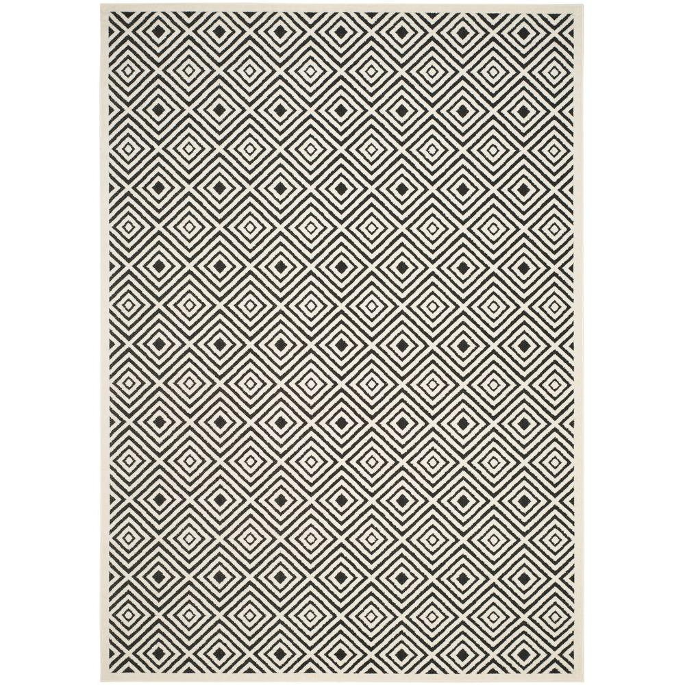 Cottage Cream/Anthracite 8 ft. x 11 ft. 2 in. Area Rug