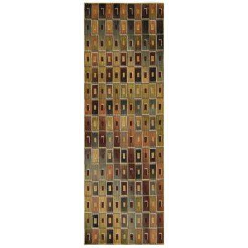 Aristo Multicolor 2 ft. 2 in. x 7 ft. 6 in. Rug Runner