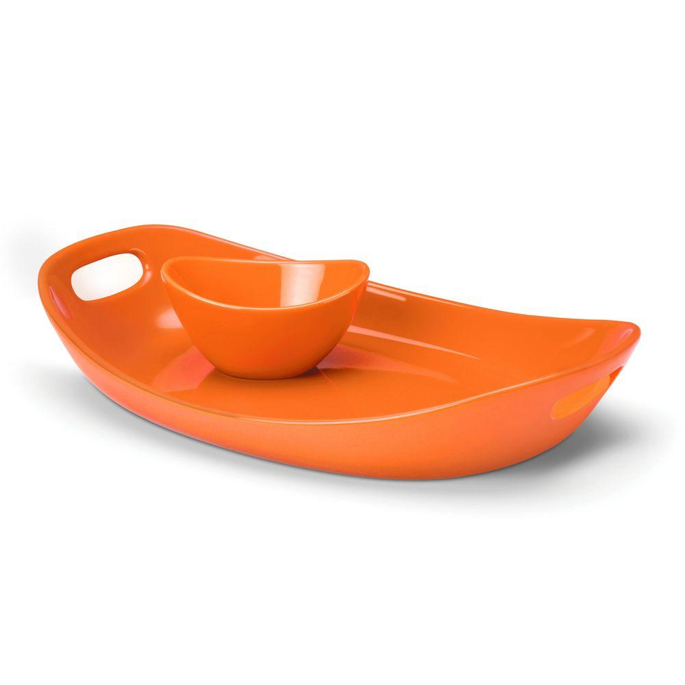 Rachael Ray Chip and Dip in Orange
