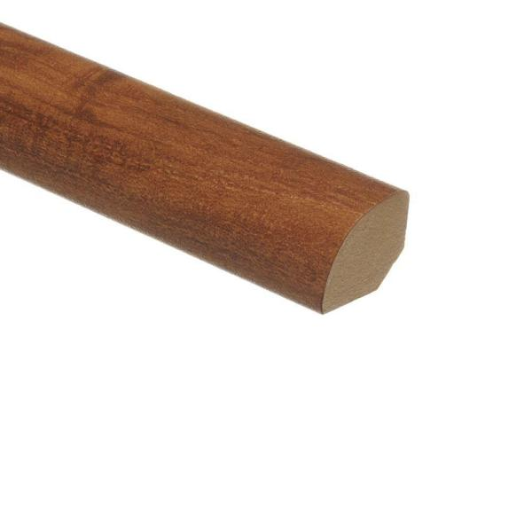 Cider Oak 5/8 in. Thick x 3/4 in. Wide x 94 in. Length Vinyl Quarter Round Molding
