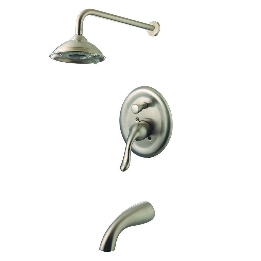 Yosemite Home Decor - Nickel - Showerhead, Faucet & Tub Combos ...