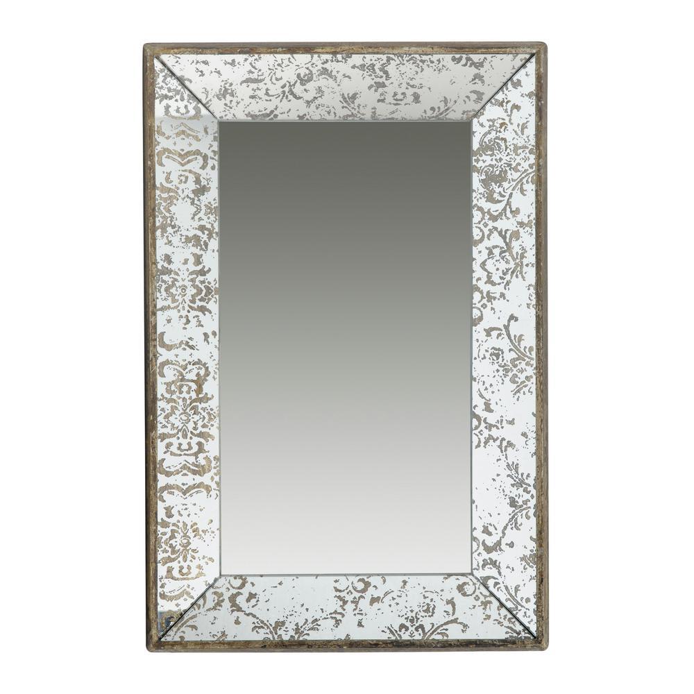 Rectangular Silver Tray/Mirror